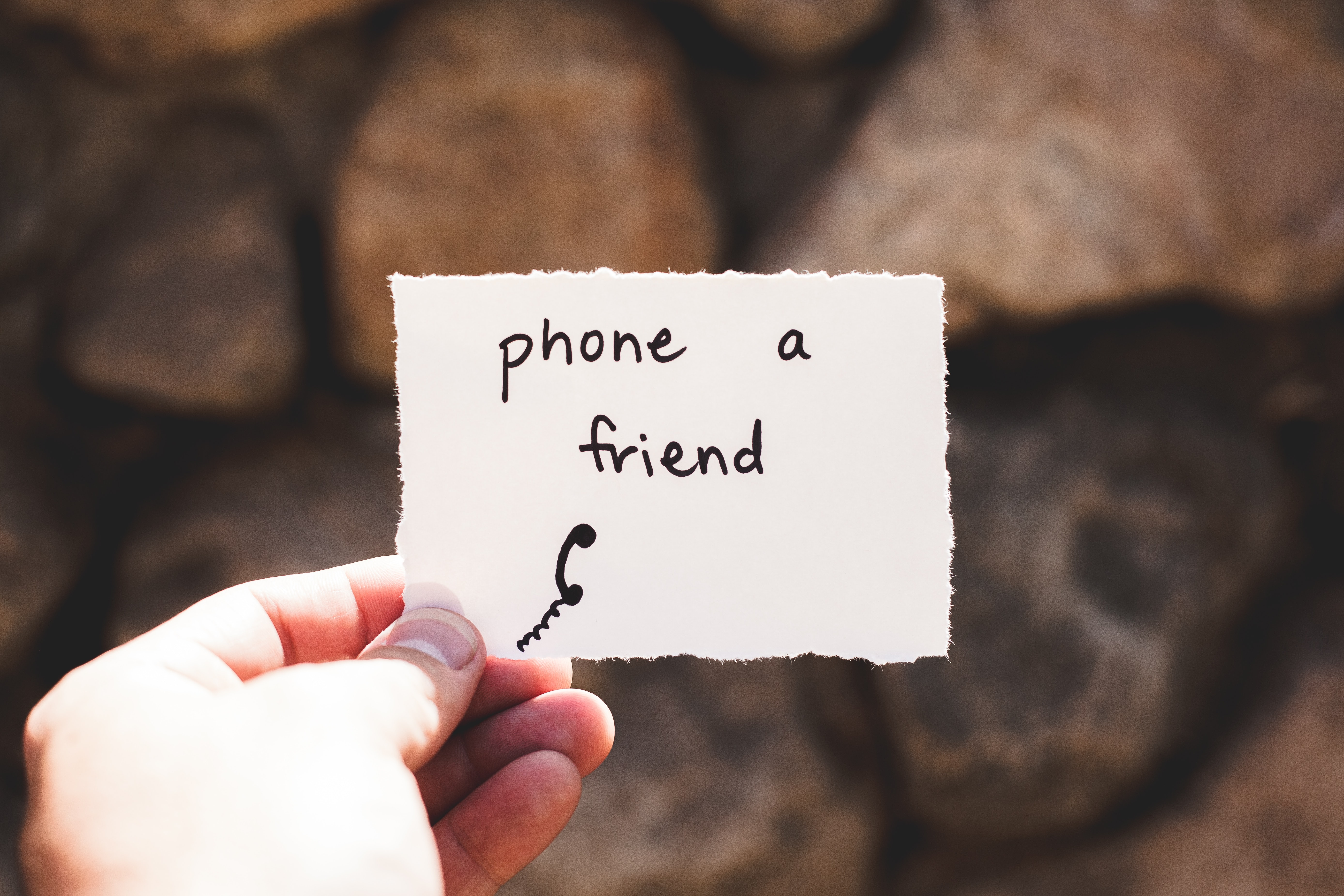 stay connected to friends