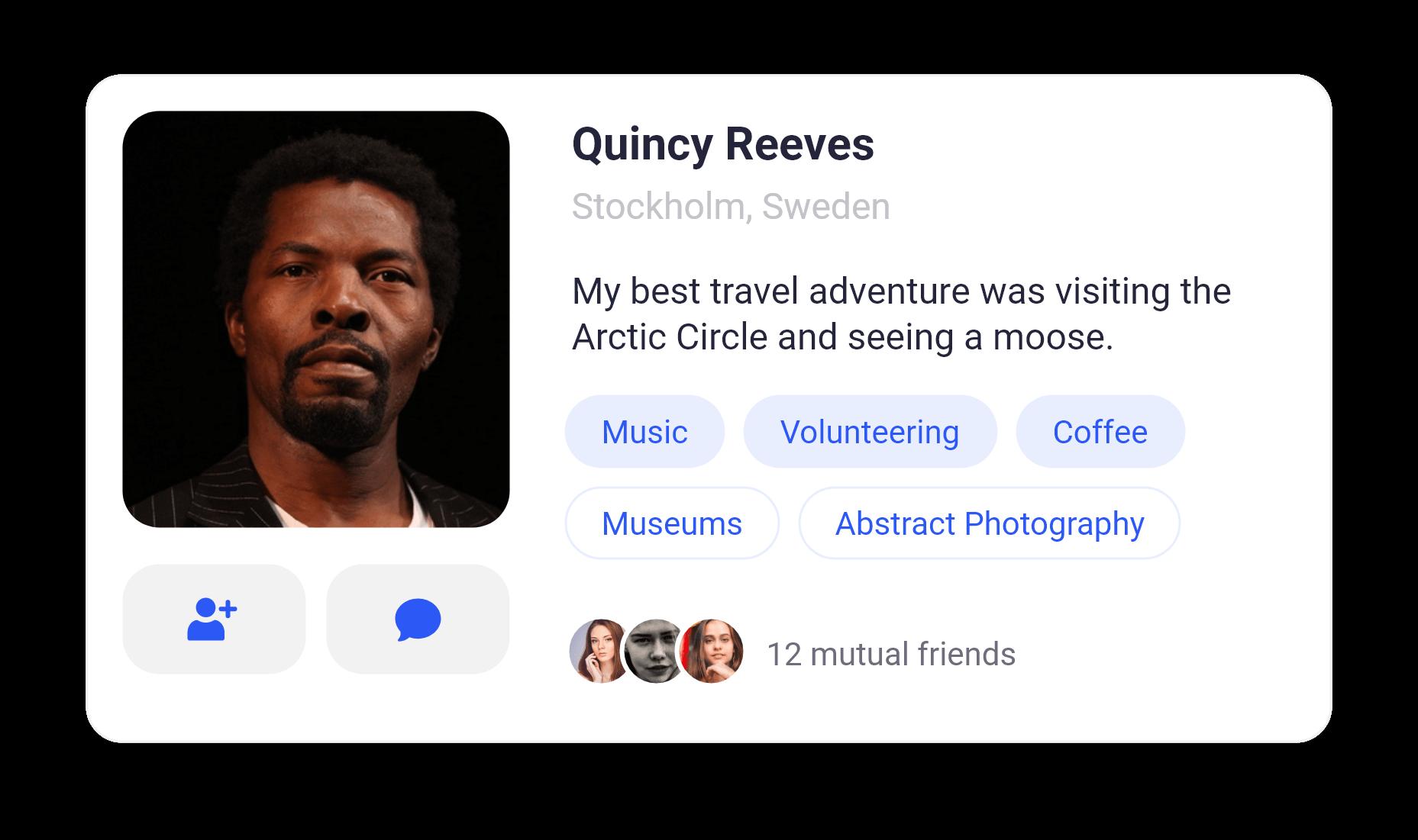Quincy Reeves card